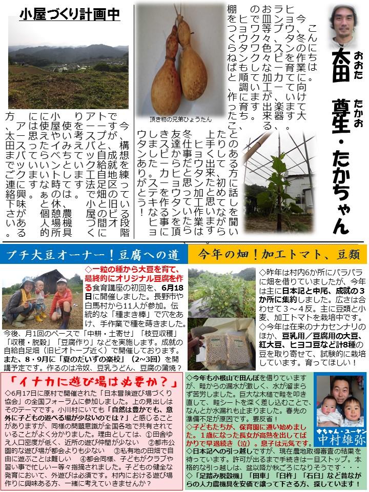 第61号協力隊新聞3