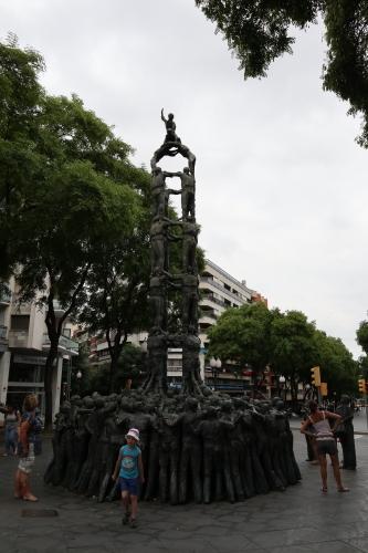 タラゴナ人間の塔