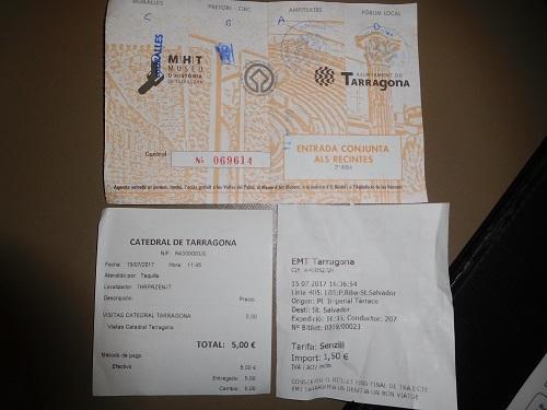 タラゴナチケット