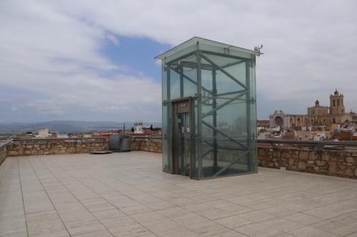 考古学博物館屋上