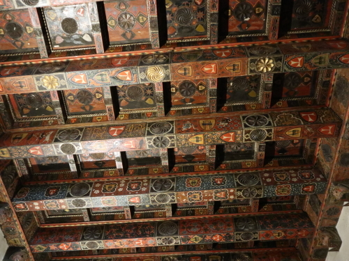 カテドラル回廊の小部屋の天井
