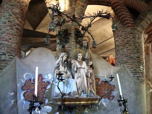 シンプルな祭壇