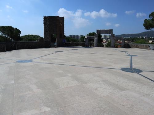 教会の屋上