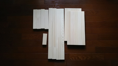 テーブル材料1