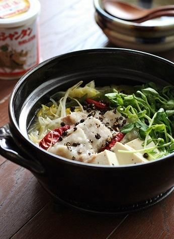 創味シャンタン鍋2