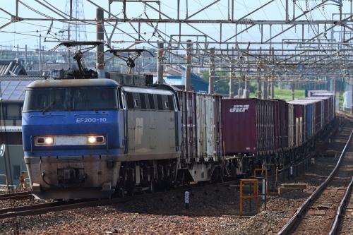 EF200-10代走・1072レ 下地駅