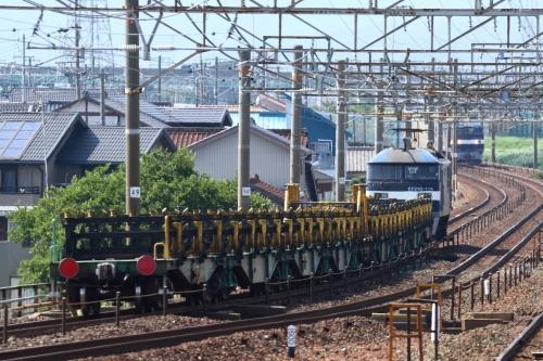 8091レ・5050レ 下地駅