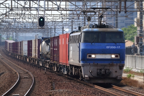 EF200-17代走・5085レ 大高駅