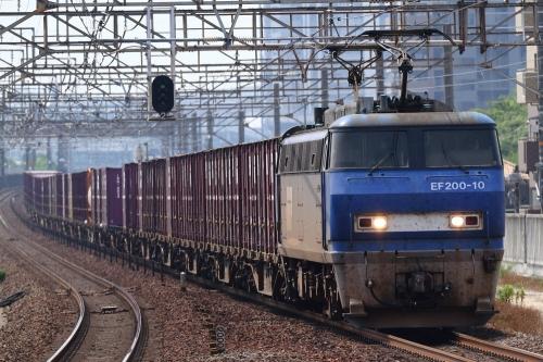 EF200-10代走・5091レ 大高駅