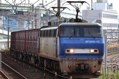EF200-10代走・1255レ ささしまライブ駅