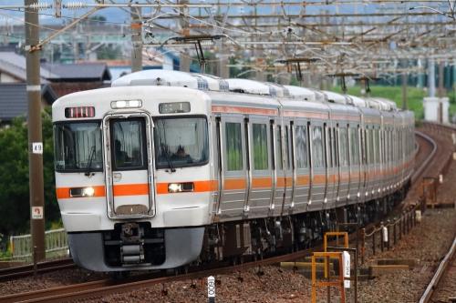 東海道本線列車 下地駅