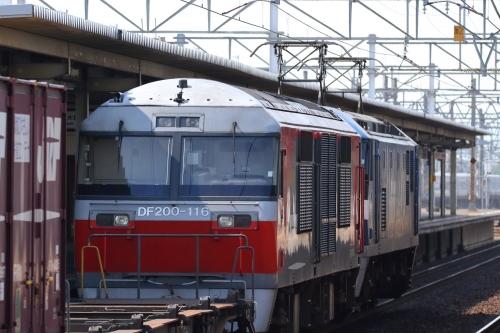EF210-104+無動DF200-116・5085レ 尾張一宮駅