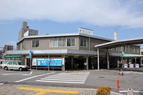 名鉄知立駅舎
