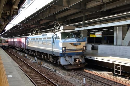 5074レ 名古屋駅