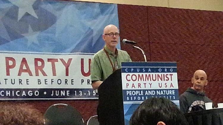ジョン・バックテル アメリカ共産党