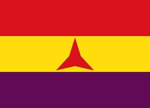 国際旅団の旗