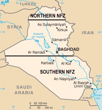 イラク飛行禁止空域