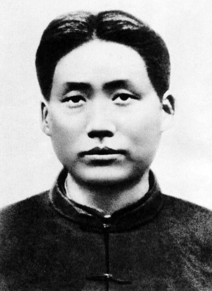 1927年頃の毛沢東
