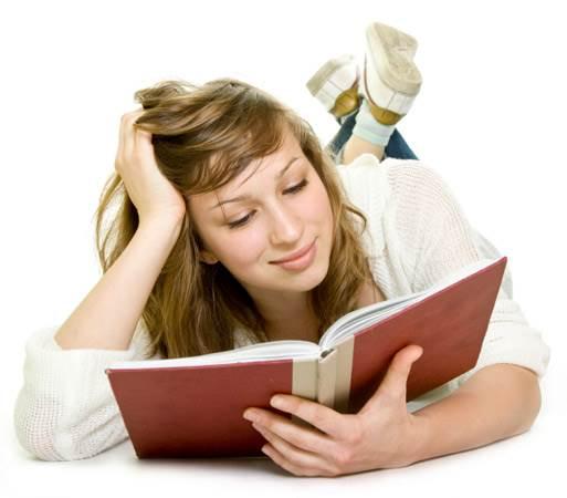 女性 外国人 読書 11