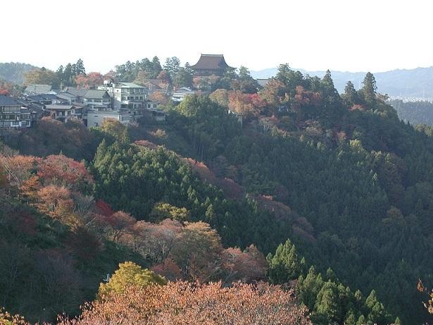 紅葉の吉野山
