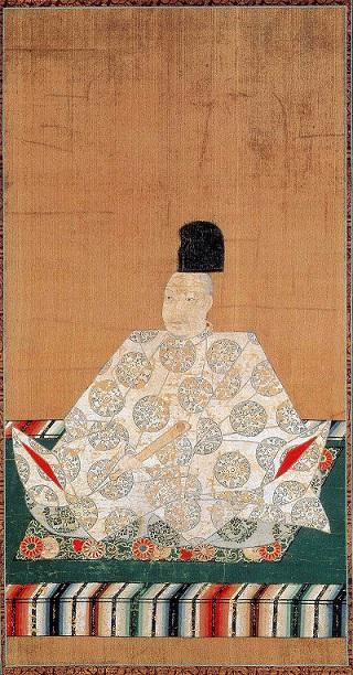 正親町天皇像(京都・泉涌寺蔵)