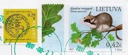 切手4  リトアニア