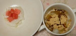 冬瓜とココナッツミルクの葛ゼリー