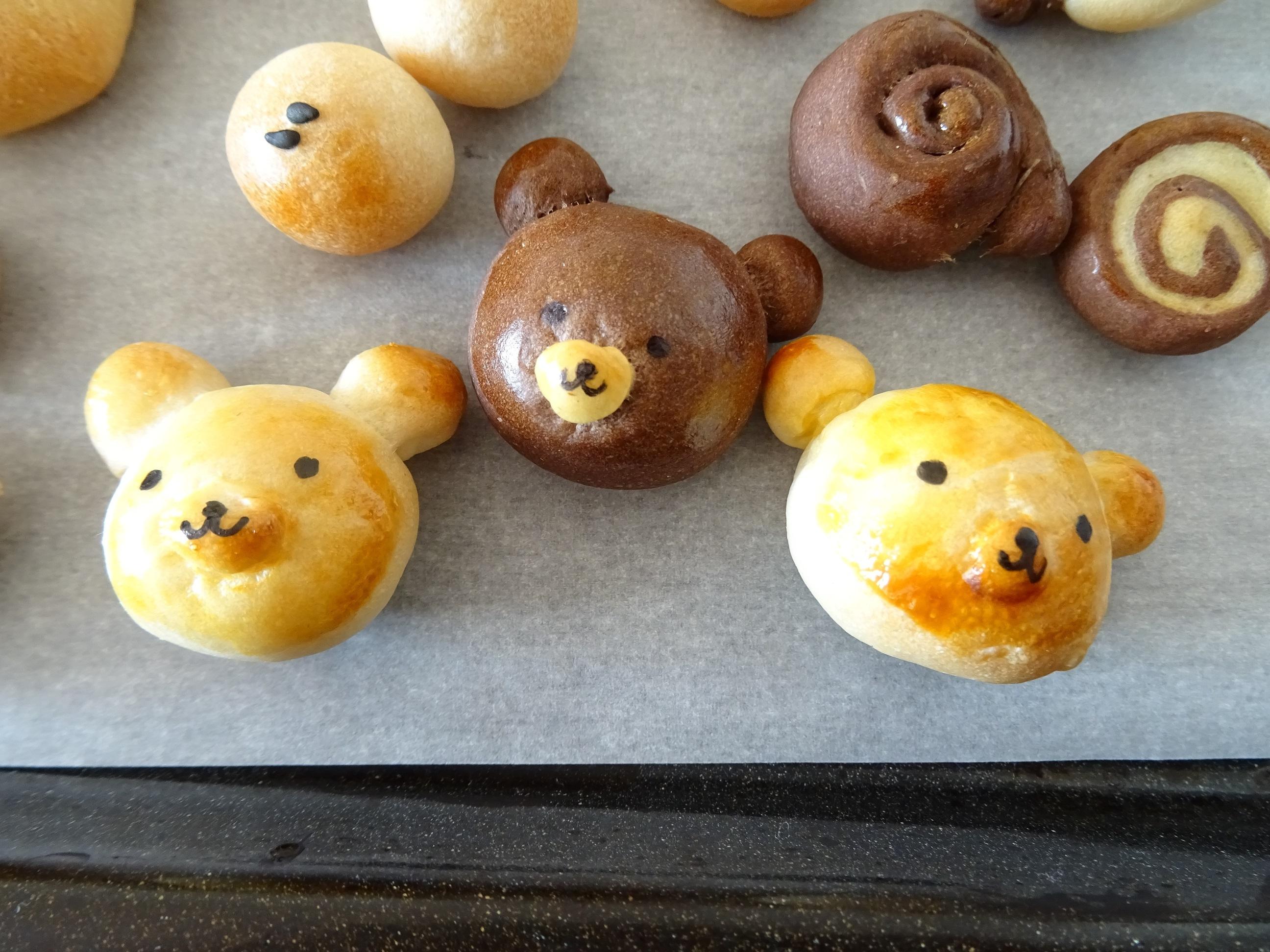 パン生地で作るミニチュア小物2