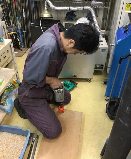 パンタレイ panta rhei 大田区 池上 装身具 アクセサリー 鋳造 シルバー 猫 工場長