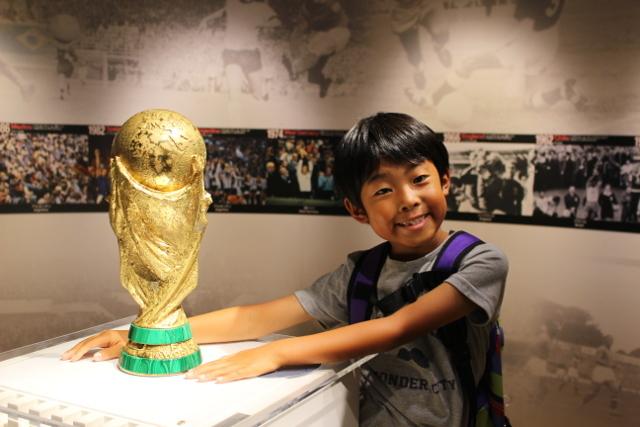 ワールドカップのトロフィー