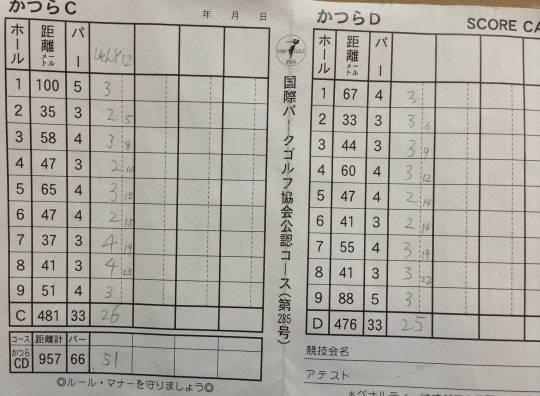 親水河川公園 初見プレー記 (2)