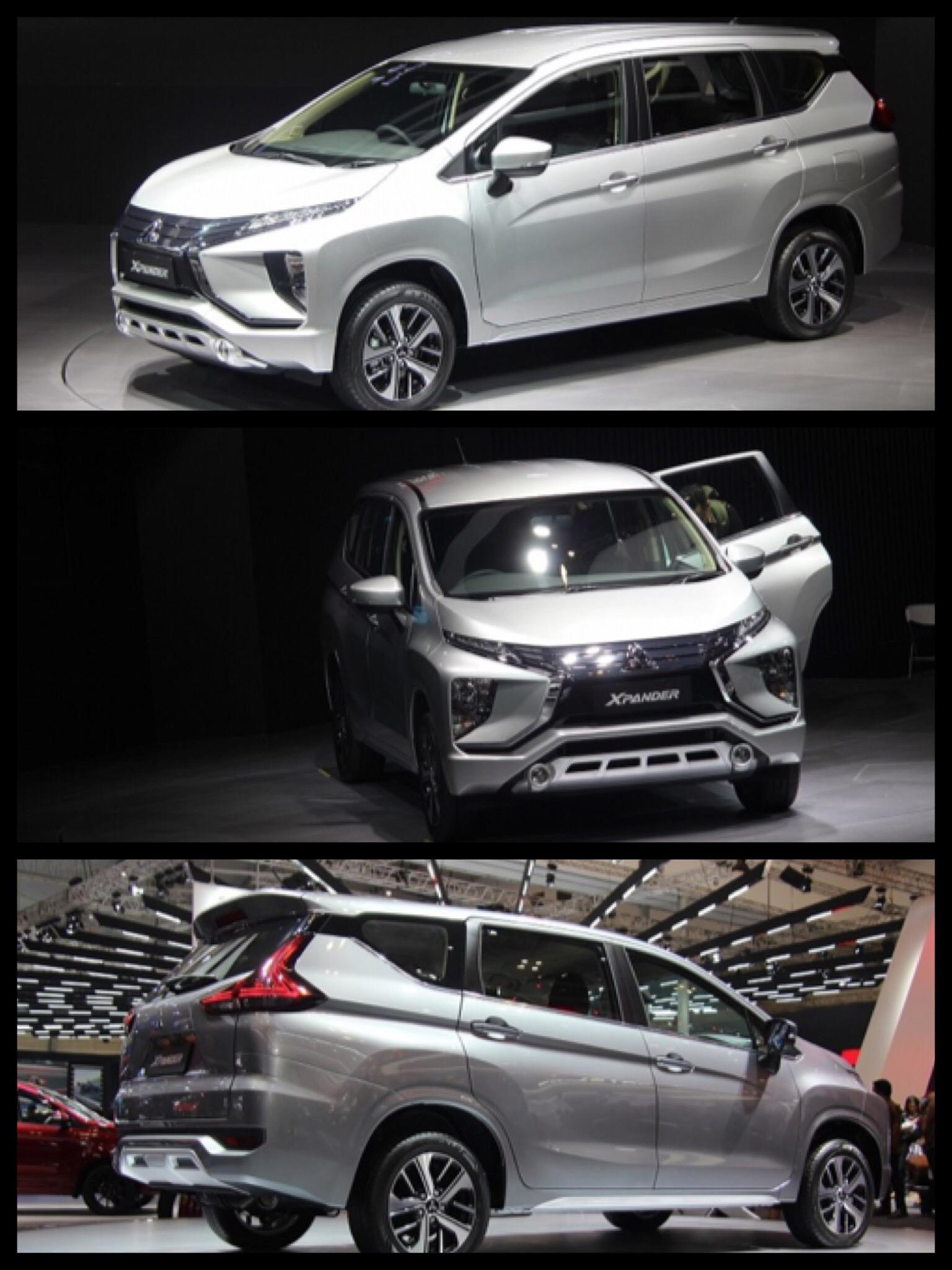 三菱 新型MPV エクスパンダー Xpander インドネシア