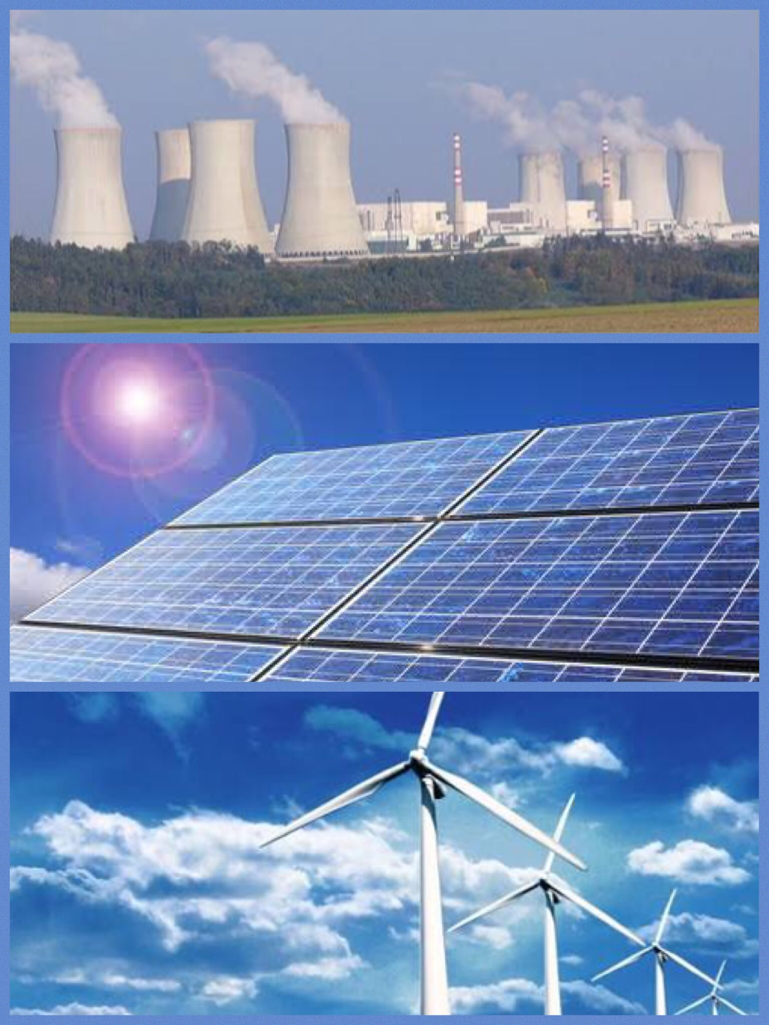 化石燃料発電 太陽発電 風力発電