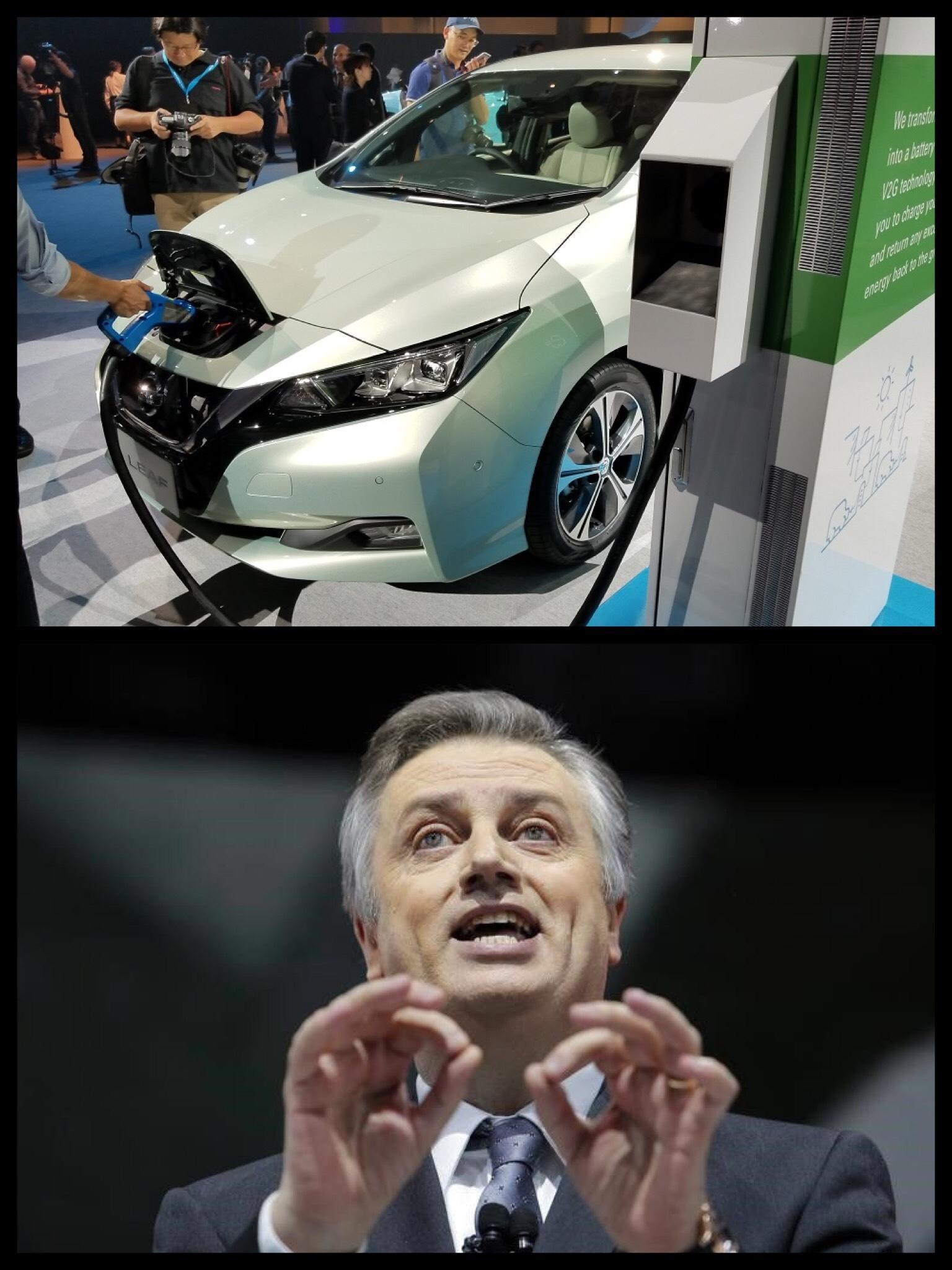 日産 新型リーフ スキラッチ副社長 EV