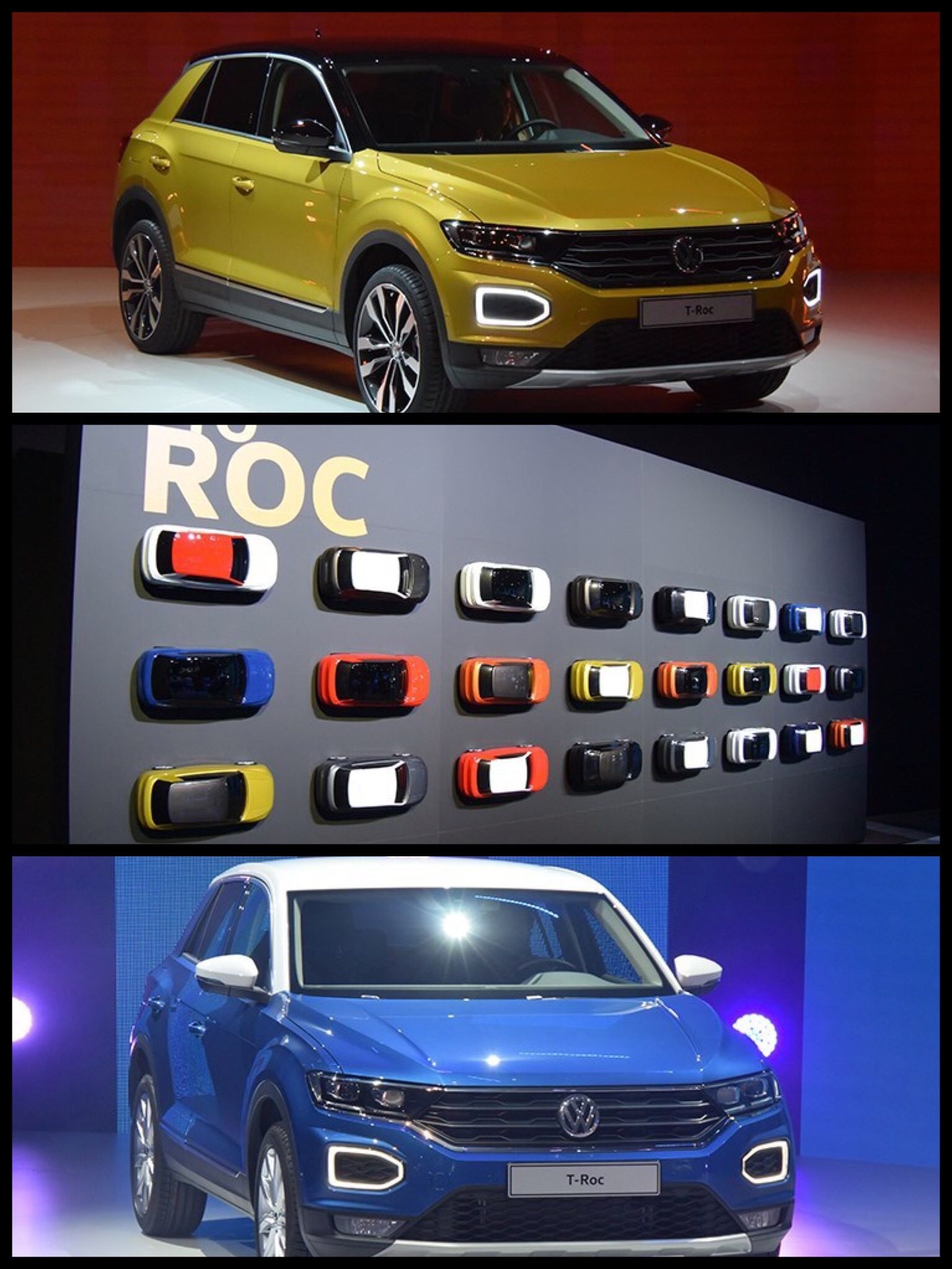 VW T-Roc ツートン
