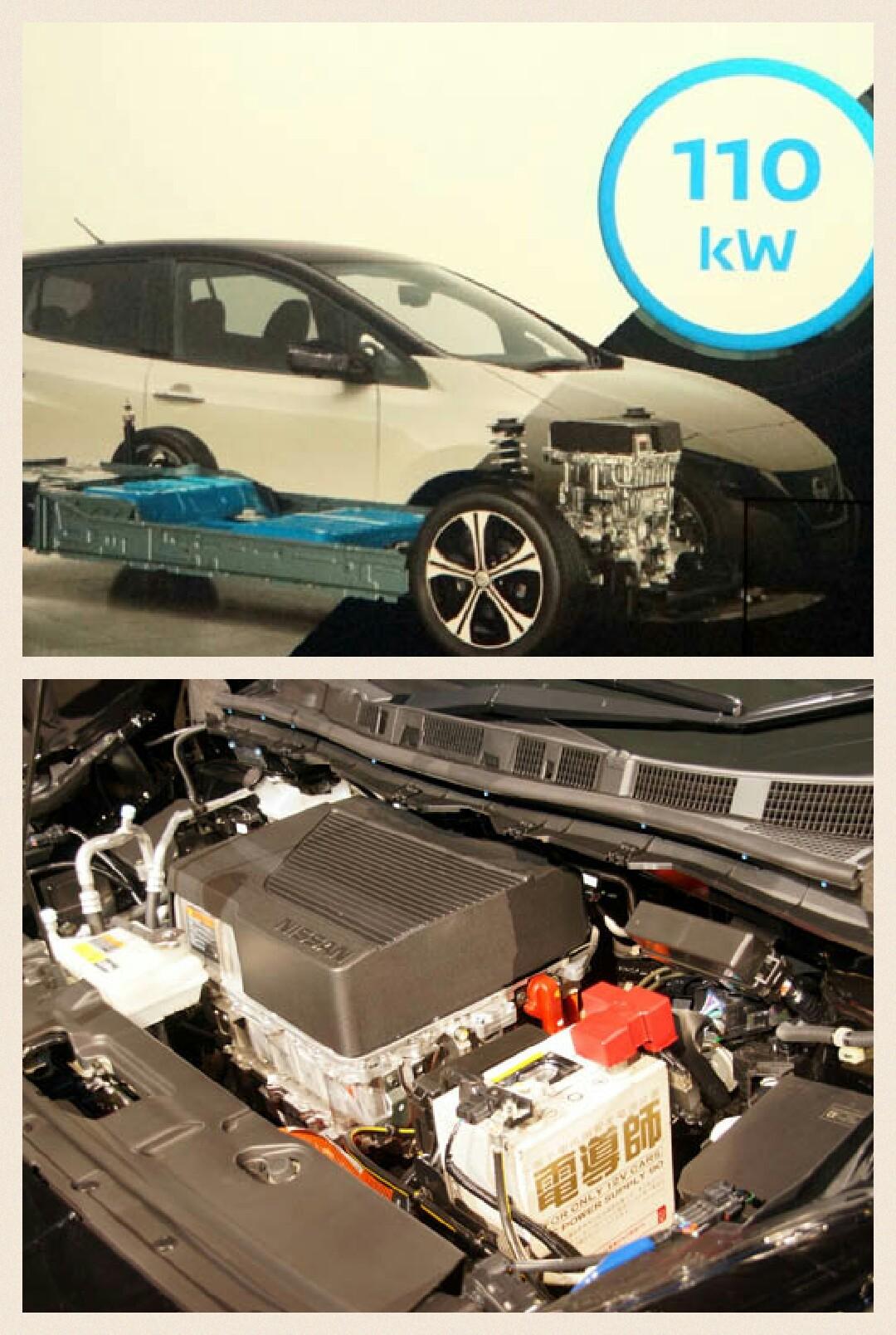 日産新型リーフ パワートレイン 駆動用電池 ハイパワー