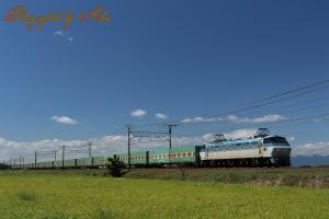 56レ「福山レールエクスプレス」(=EF66-105牽引)