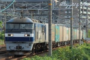 1051レ(=EF210-121牽引)