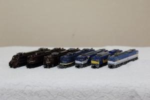 機関車集合(1)