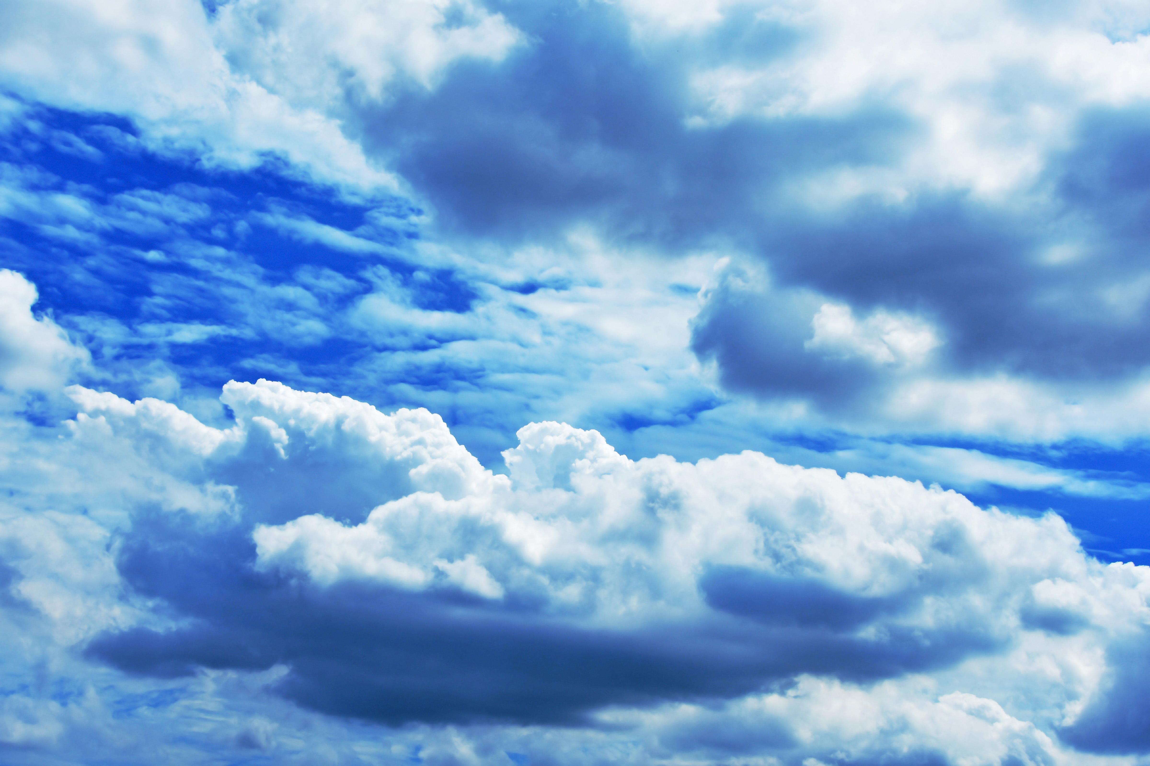 天空散歩風フォト♪