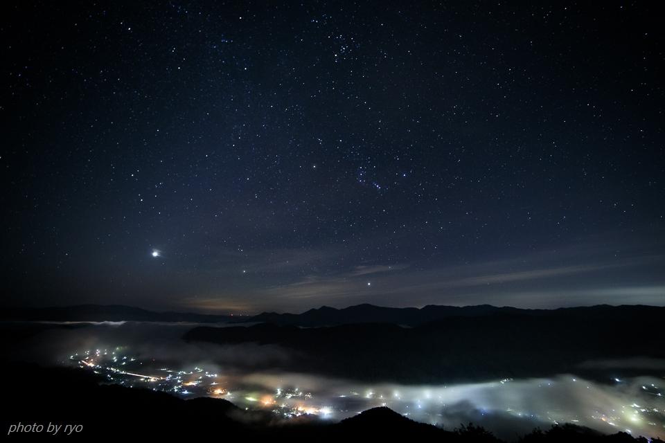 薄明の時、星が綺麗だった朝に_1