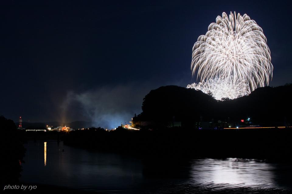 三江線の夏 ~大輪の花とともに~ _4
