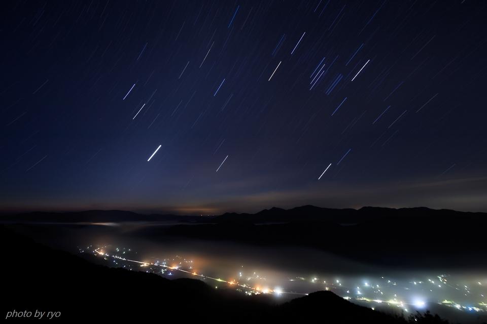 薄明の時、星が綺麗だった朝に_2