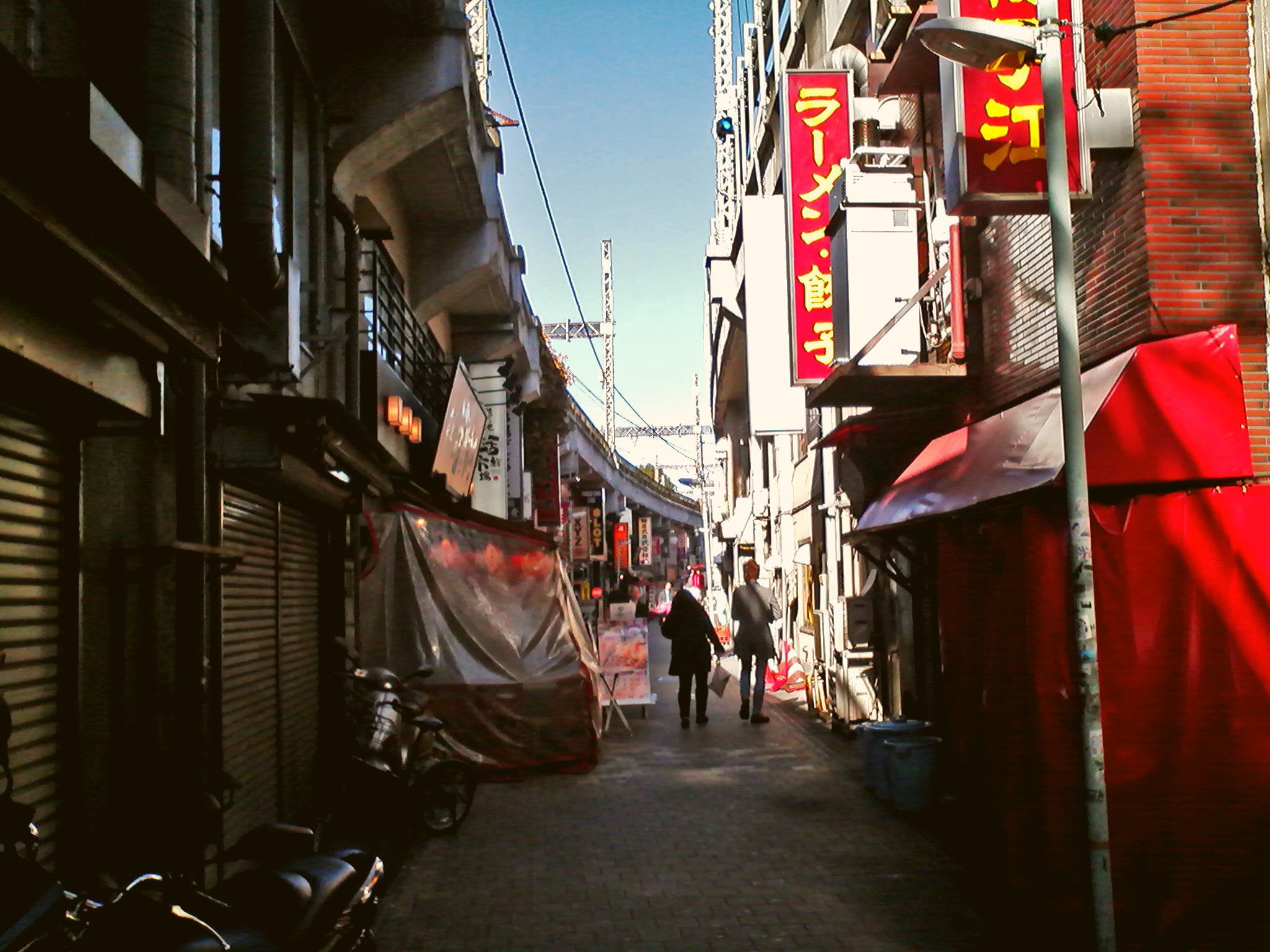 上野高架下店舗