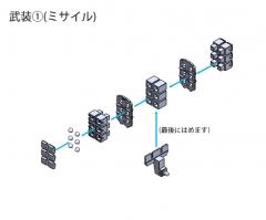 アンファングサポートpミサイル