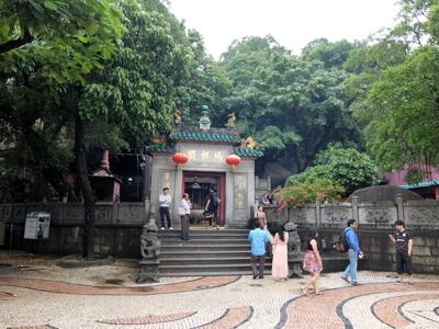 マカオ6162媽閣廟