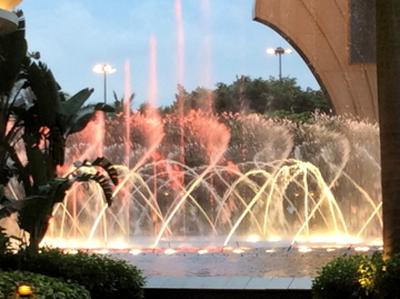 マカオ6184噴水ショー