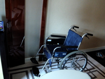 マカオ6205車椅子