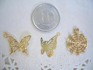 blog用:蝶2種・蜘蛛の巣