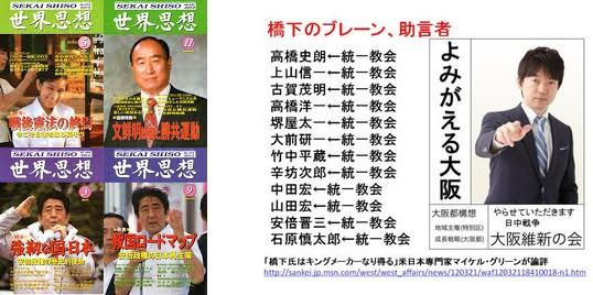 ⑨韓国統一教会【文鮮明】は強姦拉致監禁などで何度も逮捕されていた!橋下も統一教会!